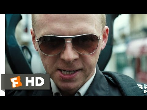 Hot Fuzz (7/10) Movie CLIP – The Battle for Sandford Begins (2007) HD