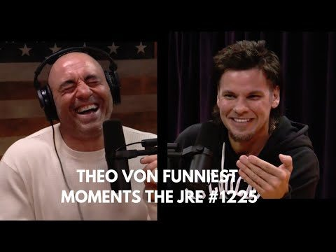 Theo Von funniest podcast moments from JRE #1225