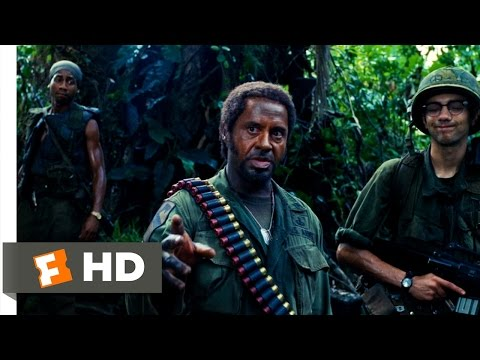 Tropic Thunder (6/10) Movie CLIP – What Do You Mean, You People? (2008) HD